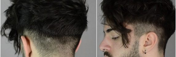 What is a disconnected haircut?